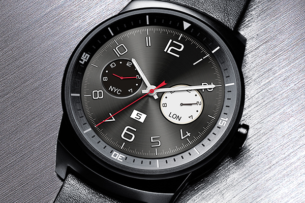 lg g watch r montre