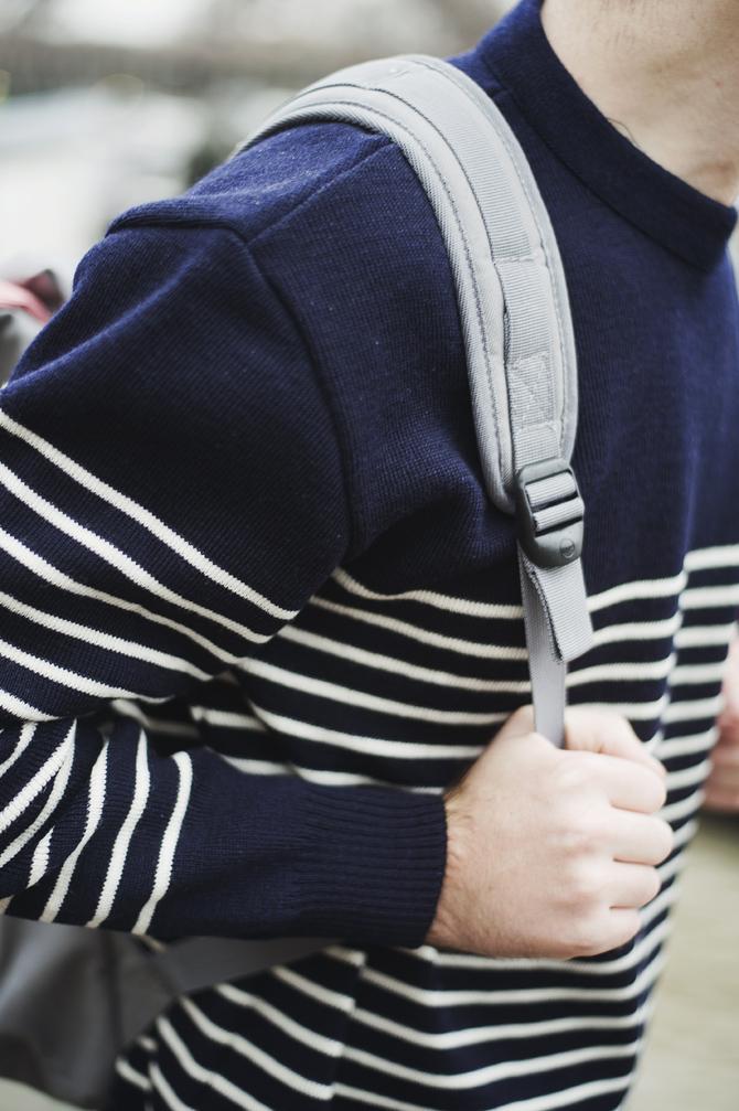 look souvenir breton armor lux herschel