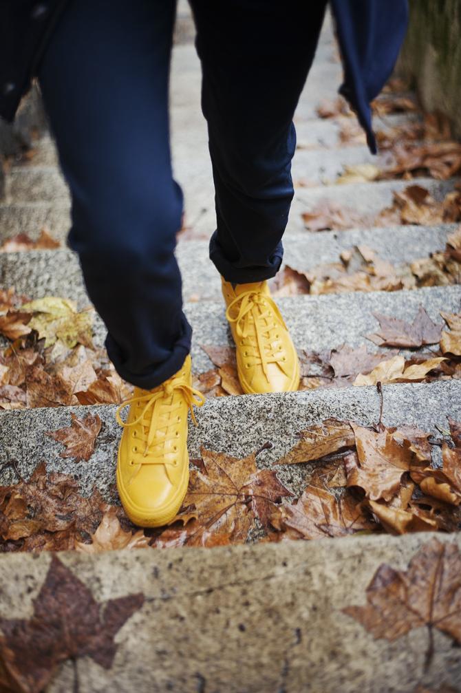 look souvenir breton converse rubber chuck jaune