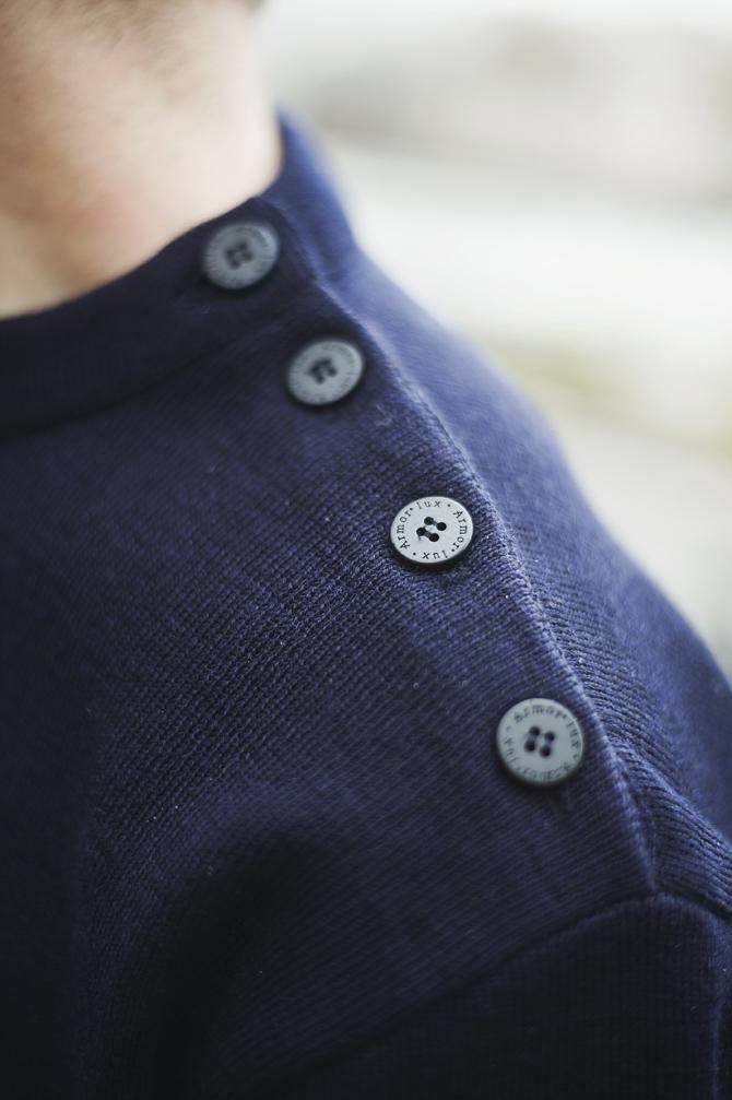 look souvenir breton marinière armor lux boutons