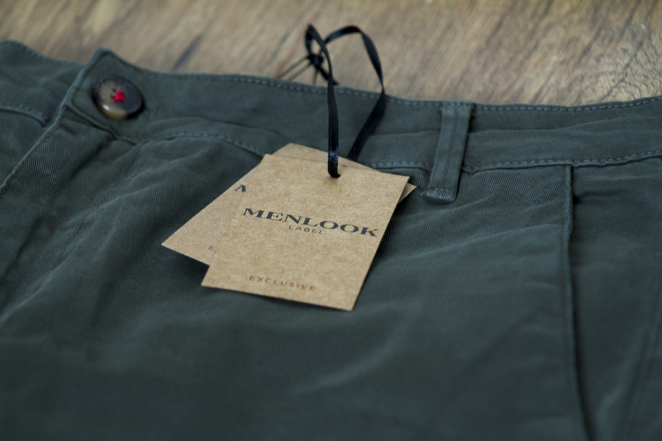 menlook label chino kaki