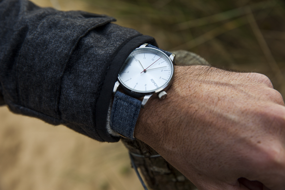 montre komono denim