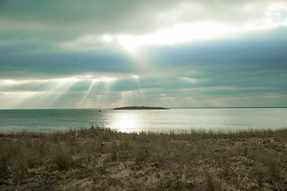 morbihan paysage plage