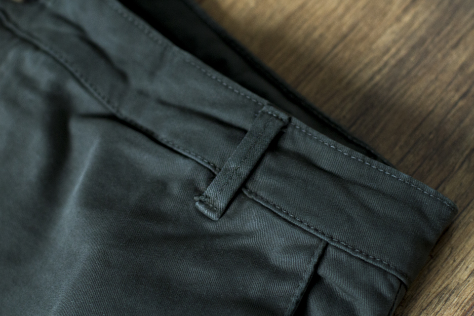 passants chino kaki menlook label
