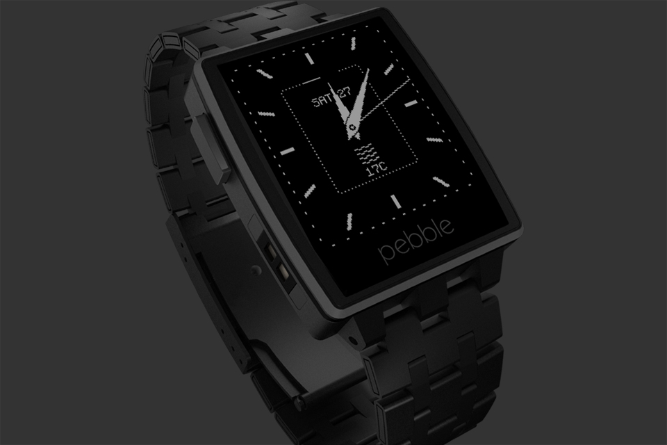 pebble steel montre connectee