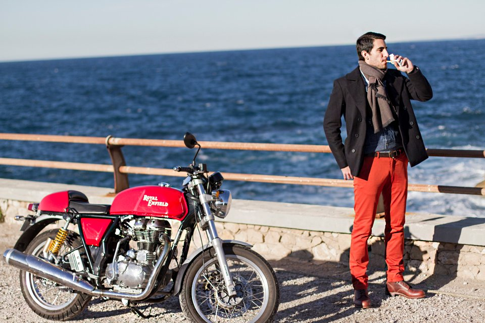 romano royal enfield marseille