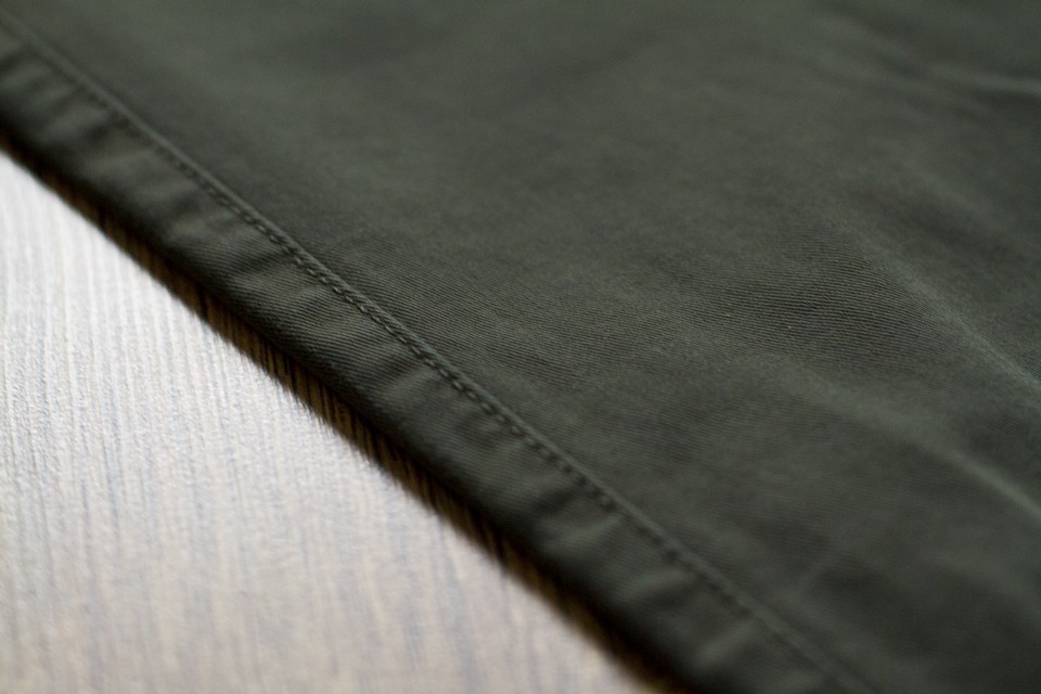 tissu chino menlook label
