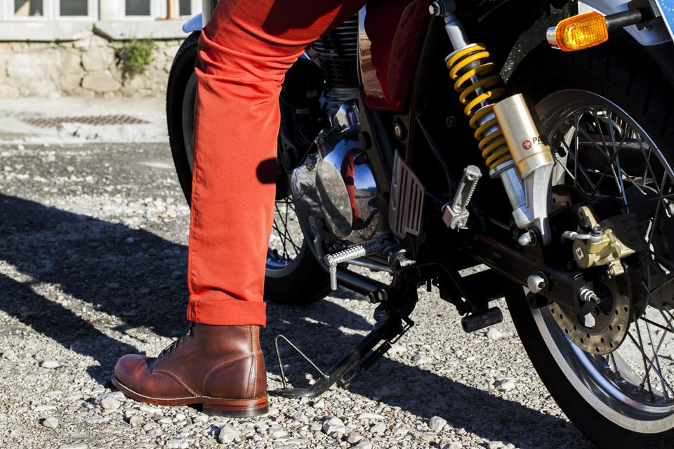 wolverine boots moto