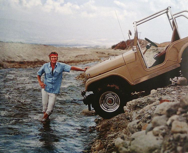 1961 steve mcquee jeep cj