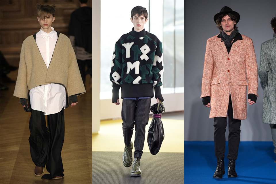 La tendance des mitaines men paris fashion week 2015 kenzo agnes b icosae