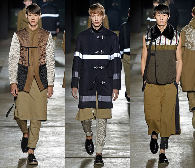 dries van noten defile men paris fashion week homme 2015