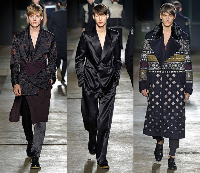 dries van noten defile paris fashion week homme 2015