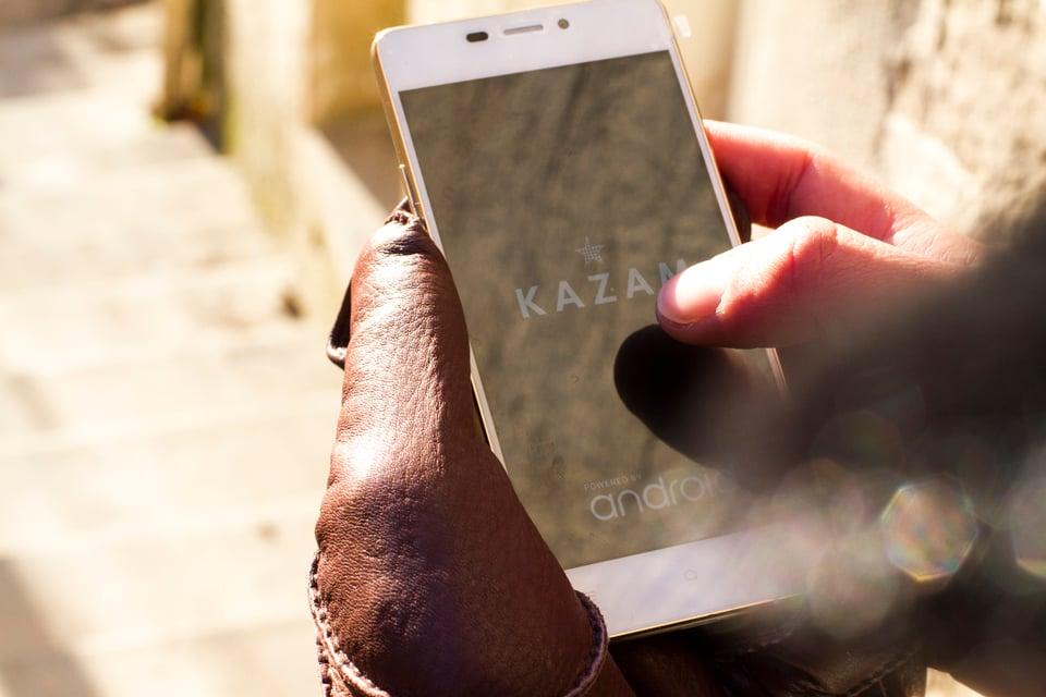 kazam tornado telephone android