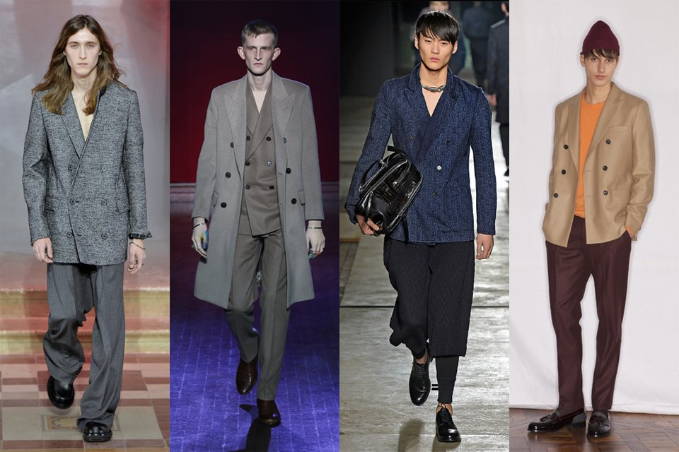 la tendance du blazer croisé men paris fashion week 2015