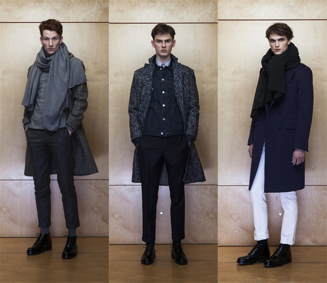 officine generale presentation fashion week homme 2015