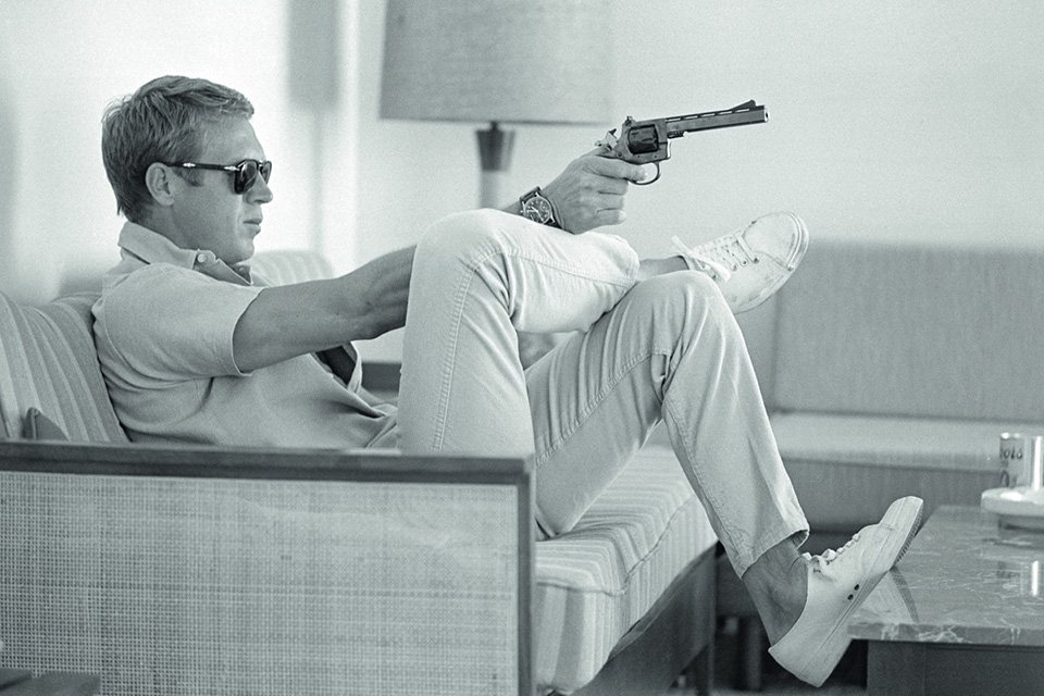 steve mcqueen icone de mode son look son style. Black Bedroom Furniture Sets. Home Design Ideas