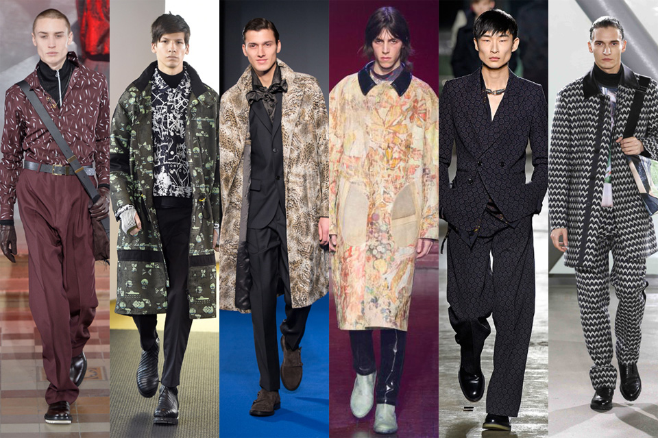 tendance du total imprimé all over men paris fashion week 2015
