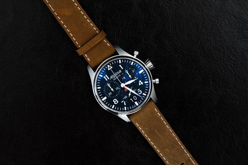 alpina startimer pilot chronograph 02