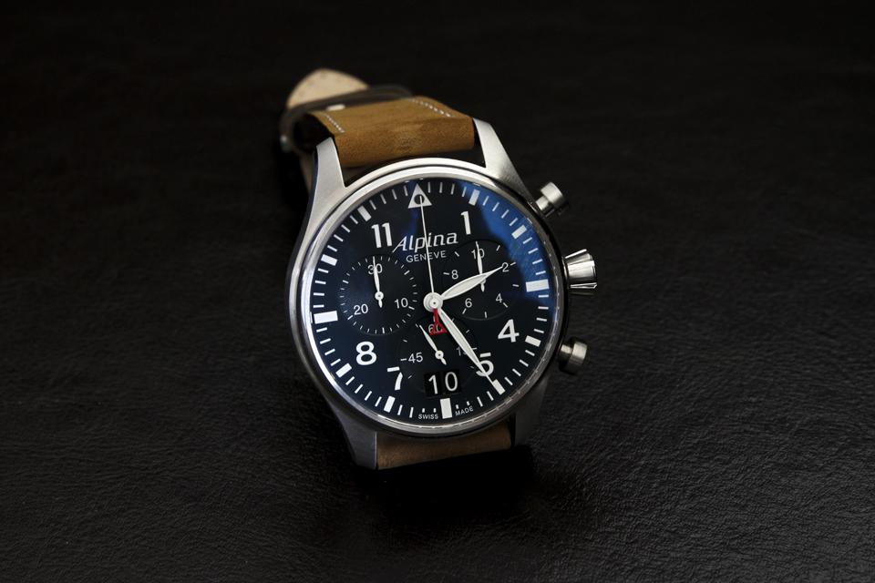 alpina startimer pilot chronograph 10