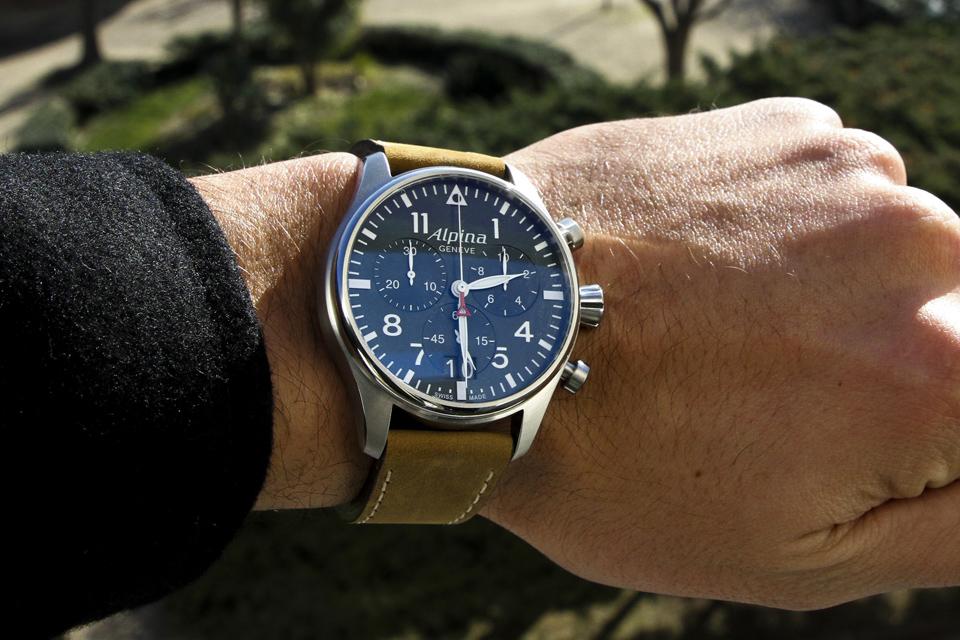alpina startimer pilot chronograph 13
