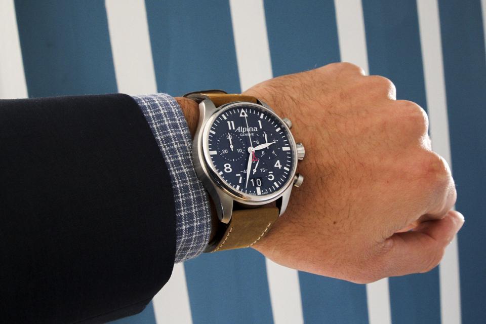 alpina startimer pilot chronograph 14