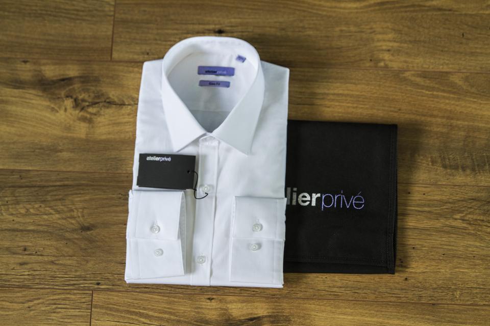 chemise blanche slimfit atelier prive