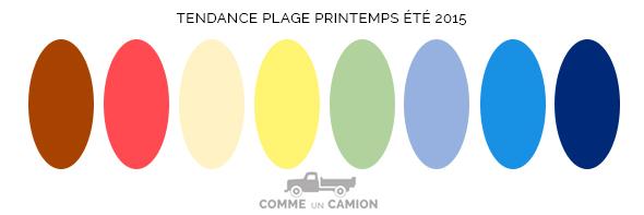Tendances mode printemps t 2015 - Tendance couleur ete 2015 ...