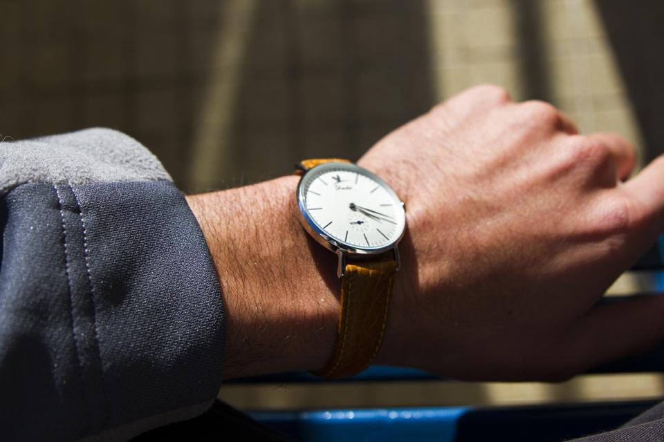 montre charliewatch bracelet camel
