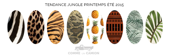 motifs jungle printemps ete 2015