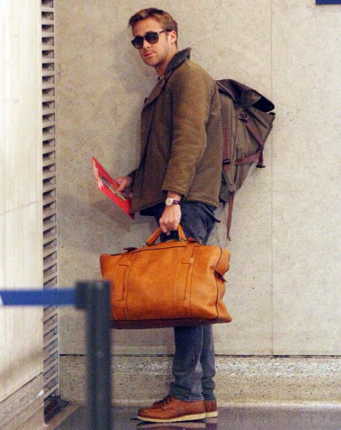 ryan gosling style icone mode paparazzi