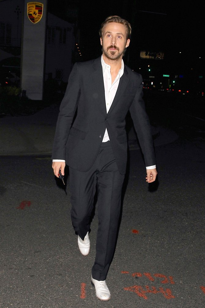 gosling style icone mode suits