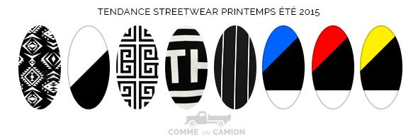 streetwear motifs tendance ete 2015
