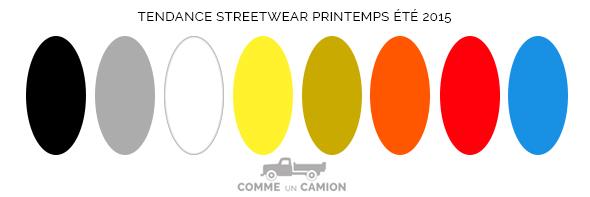 tendance sportswear couleurs printems ete 2015