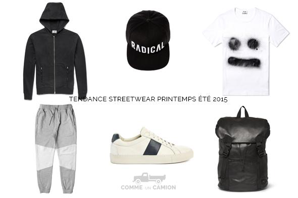 tendance streetwear printemps ete 2015