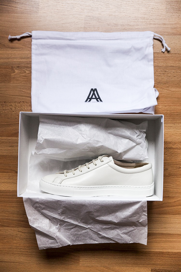 Baskets Axel Arigato : Test & Avis