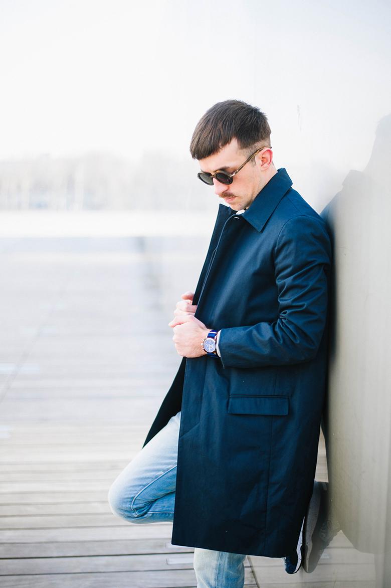 look jimmy patrouille cuc veste balibaris montre bleue chrono briston jeans levis sunglasses waiting for the sun