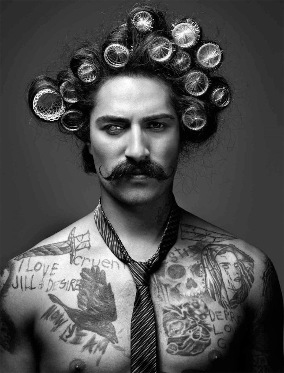 Coil prise de tête ! Nos-conseils-coiffure-homme-bigoudi-boucle-curler-hair