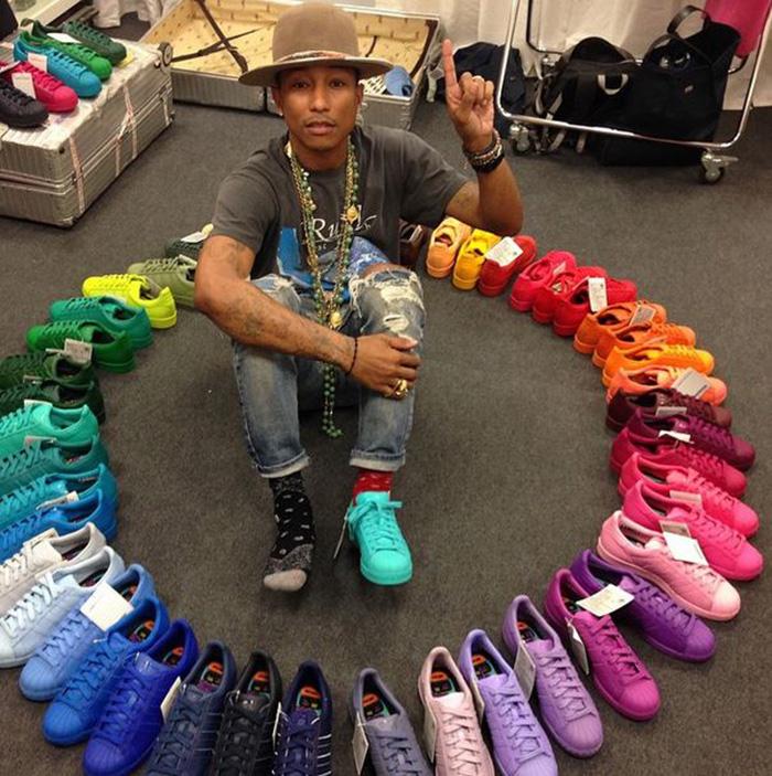 pharrell adidas superstar