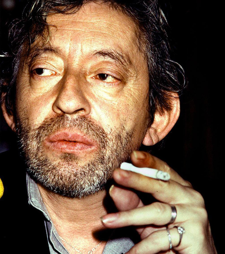 serge gainsbourg icone de mode