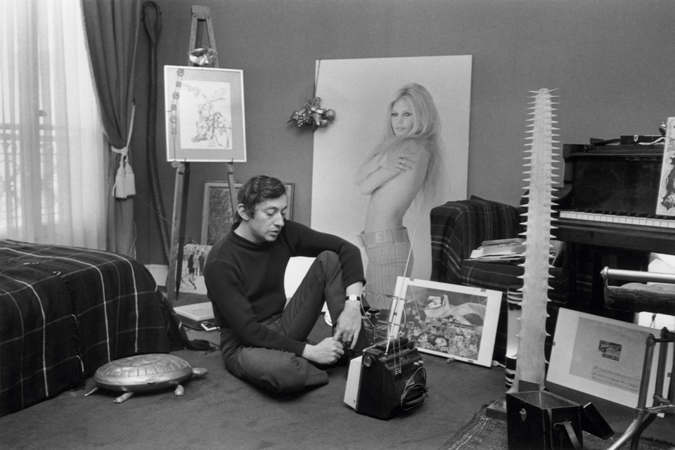 serge gainsbourg icone de mode 1968