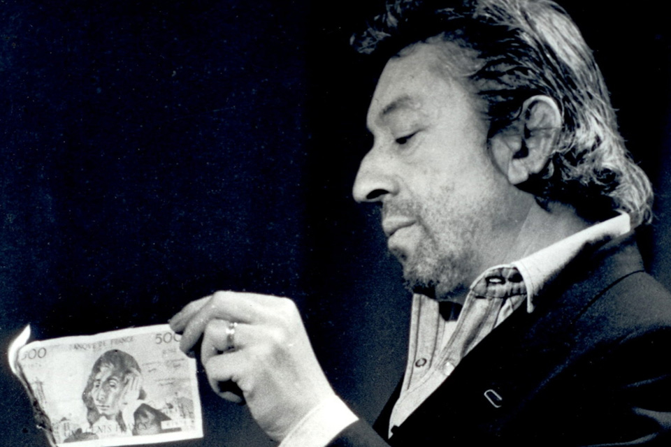 serge gainsbourg icone de mode billet 500 feu briquet sept sur sept