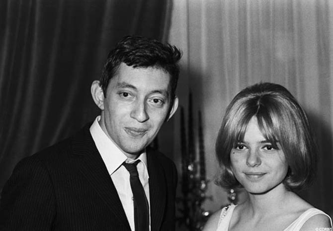 serge gainsbourg icone de mode france gall eurovision 1965