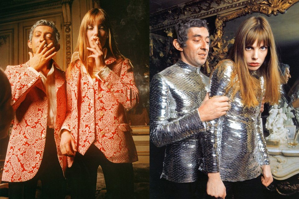 serge gainsbourg icone de mode jane birkin cerruti
