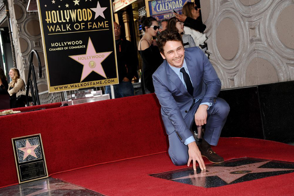 james franco icone de mode gucci suits walk of fame star hollywood