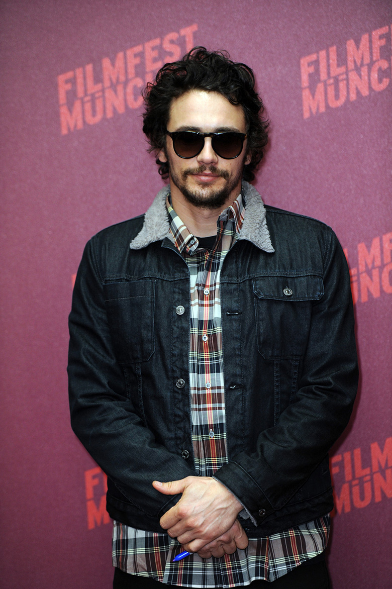 james franco icone de mode style jeans jacket sunglasses