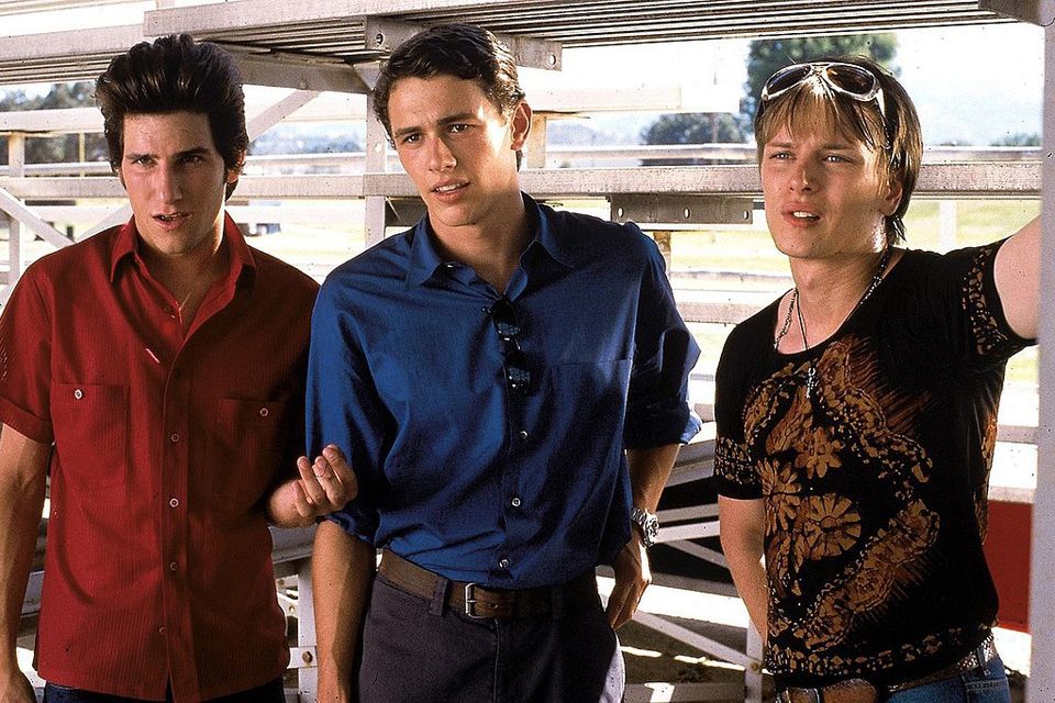 james franco icone de mode  never been kissed college attitude