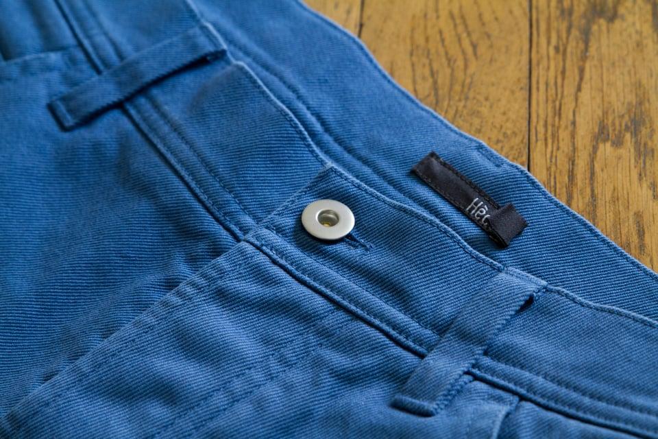 5 poches Hèdus bleu