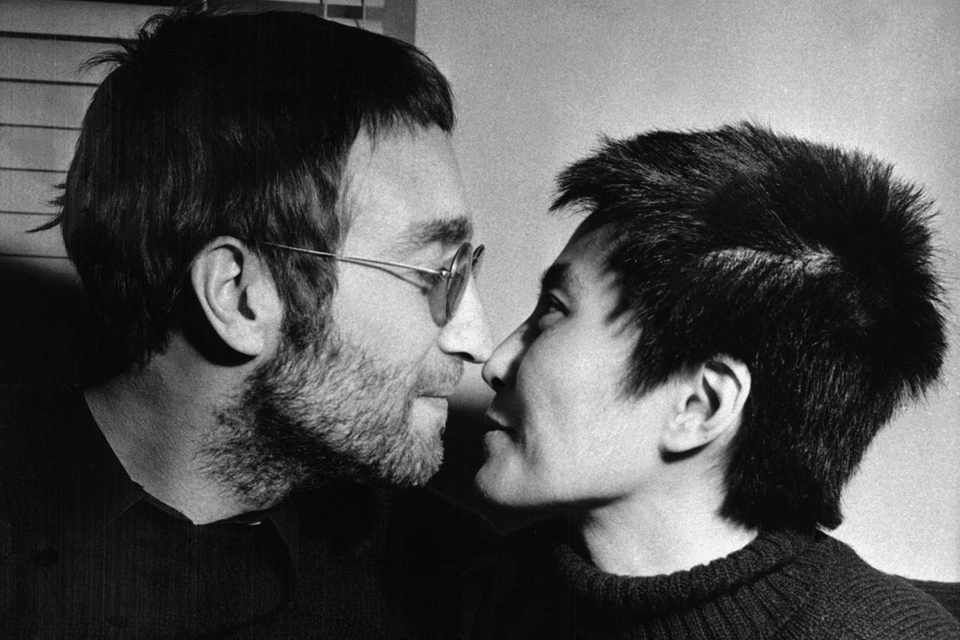 Couple Lennon Ono