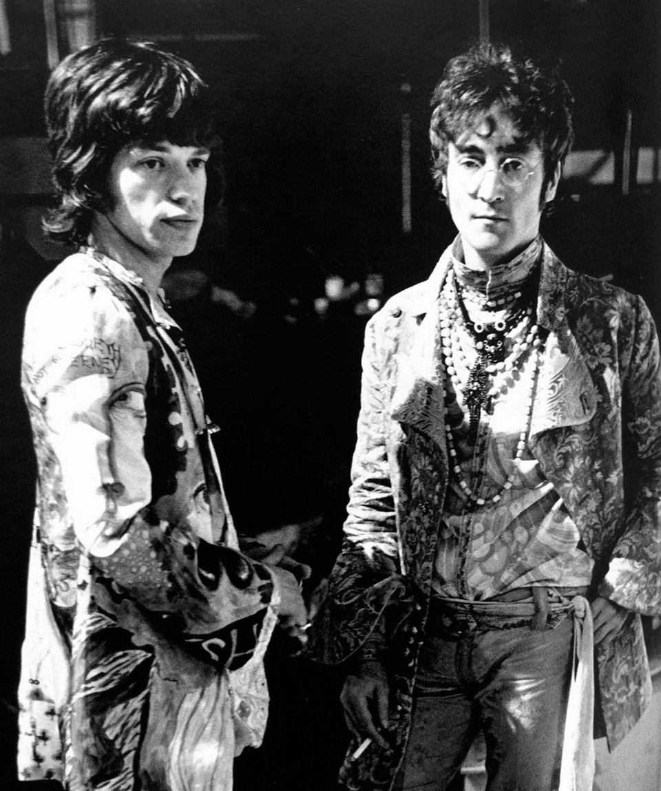 Look Hippie Lennon Jagger