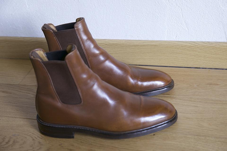 Boots Septieme Largeur restaurées